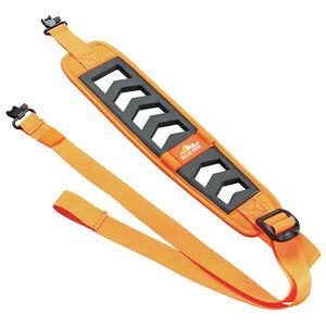"""Butler Creek Featherlight Sling with Swivels 3"""" W x 22""""-36"""" L Adjustable Foam for Rifle Blaze Orange"""