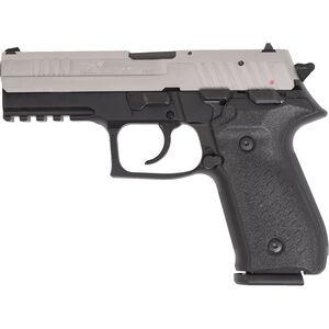 "AREX Rex Zero 1S Standard Semi Auto Pistol 9mm Luger 4.25"" Barrel Length 17 Rounds Fixed Sights Picatinny Rail Ambidextrous Safety/Magazine Release 2 Tone Finish"