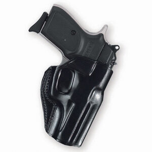 "Galco 1911 Stinger Belt Holster 3"" Barrel Right Hand Leather Black Finish SG424B"