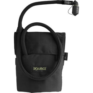 Source Tactical Kangaroo 1 Liter Hydration Pack, Nylon, Black, MOLLE Compatible