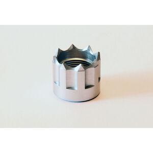 "LongShot Viper Thread Protector .578""-28 for Hi-Point 1095TS, 4095TS & 4595TS w/ Threaded Muzzle Brushed Aluminum"