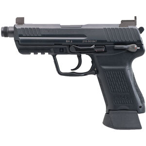 "H&K HK45 Compact Tactical V1 Semi Auto Pistol .45 ACP 4.57"" Threaded Barrel 10 Rounds Polymer Frame Black"