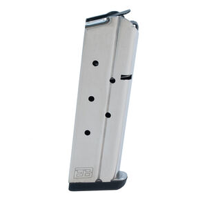 Ed Brown 1911 Government/Commander 9 Round Magazine 10mm Auto Stainless Steel Natural Finish