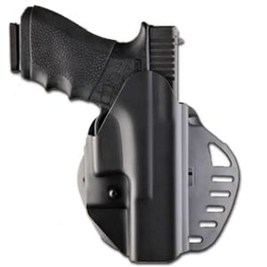 Hogue PowerSpeed GLOCK 17/22/37/31/19/23/32/38/26/27/33/39/34/35 Paddle Holster Right Hand Polymer Black 52017