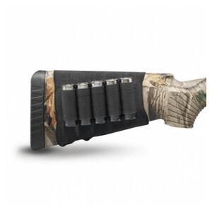 Hunters Specialties Butt Stock Shotgun Shell Holder Elastic Black