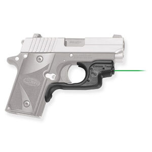 Crimson Trace SIG Sauer P238/P938 Green Laserguard Polymer Black with Holster