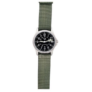 5ive Star Gear Squad Leader Watch Nylon Band Olive Drab/Stainless