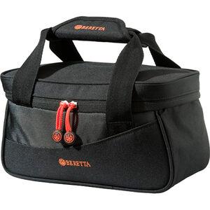 "Beretta Uniform Pro Black Edition Range Bag 11""x5""x6"" Synthetic Fabric Black/Orange"