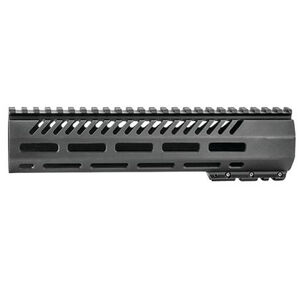 "Mission First Tactical Tekko AR-15 Free Float 10"" Mid-Length M-LOK Hand Guard Aluminum Hard Coat Anodized Matte Black Finish"