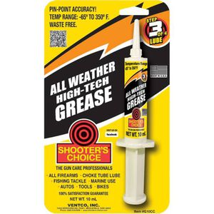 Shooter's Choice Synthetic All-Weather High-Tech Grease (10cc syringe)