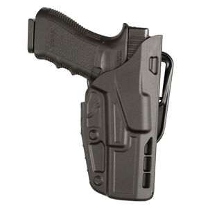 Safariland Model 7377 ALS Belt Slide Concealment Holster For GLOCK 19/23/32 Right Hand Nylon Black 7377-283-411
