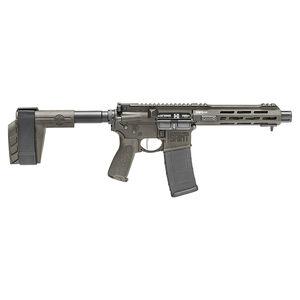 "Springfield Armory SAINT Victor 5.56 AR-15 Semi Auto Pistol 7.5"" Barrel 30 Rounds with a SB Tactical Pistol Brace OD Green"