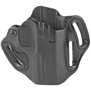"""DeSantis Gunhide Speed Scabbard Belt Holster Right Hand for Walther PDP 4"""" or 4.5"""" RDS Compatible Black"""