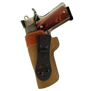 Desantis 106 Sof-Tuck 1911 Officer's and Defender Inside the Pant Left Hand Leather Tan 106NB79Z0