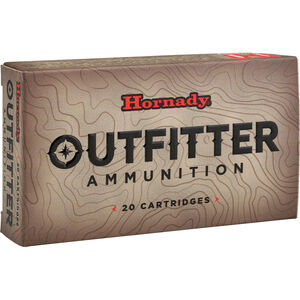 Hornady Outfitter .300 Win Mag Ammunition 20 Rounds 180 Grain LF GMX Polymer Tipped Copper Bullet 2960fps