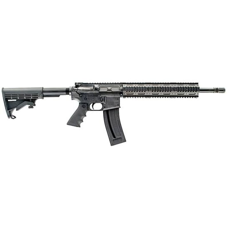 "Chiappa Mfour-22 Gen II Pro Semi Automatic Rifle .22 LR 18.5"" Barrel 28 Round Capacity Polymer Collapsible Stock Black Finish CF500088"