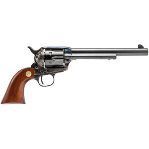 "Cimarron Model P .44 SPL Single Action Revolver 7.5"" Barrel 6 Rounds Pre-War Frame Blued/Color Case Hardened Finish"