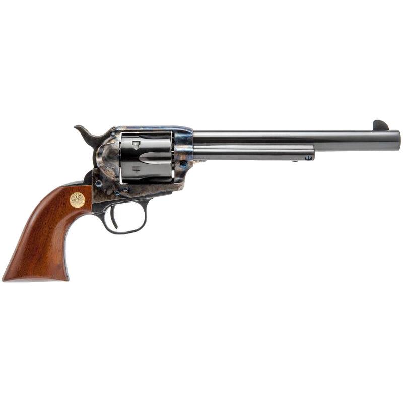 """Cimarron Model P .44 SPL Single Action Revolver 7.5"""" Barrel 6 Rounds Pre-War Frame Blued/Color Case Hardened Finish"""