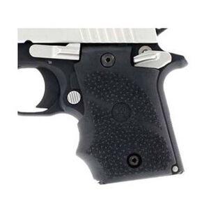 Hogue Grip SIG P938 Finger Grooves Cobblestone Rubber Black 98080