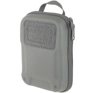 Maxpedition ERZ Everyday Organizer YKK Zippers Dual Nylon Fabric 500D Hex Ripstop/1000D Plain Weave Teflon Coated Gray