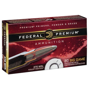 Federal Vital-Shok .270 Win 150 Grain NP 20 Round Box