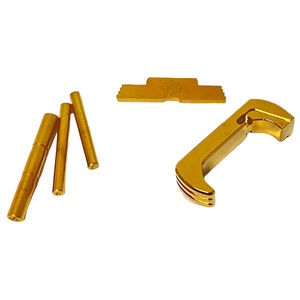 Cross Armory Glock Upgrade Kit 3 Piece For Gen 5 Glock Gold Anodized