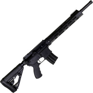 "Alexander Arms Hunter .50 Beowulf AR-15 Semi Auto Rifle 16"" Threaded Barrel 7 Rounds Carbon Fiber Freefloat Handguard Collapsible Stock Black Finish"