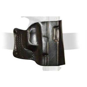 DeSantis E-GAT Belt Slide Holster For GLOCK Full Size/Compact 9/40 Right Hand Leather Black 115BAB2Z0