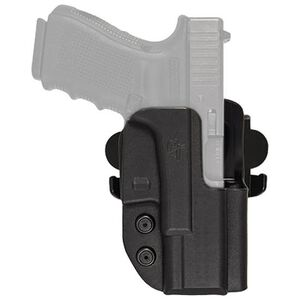Comp-Tac International Holster GLOCK 19/23/32 OWB Right Handed Kydex Black