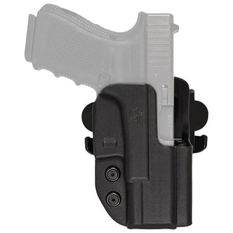 """Comp-Tac International Holster Walther PPQ M2 with 4"""" Barrel OWB Right Handed Kydex Black"""
