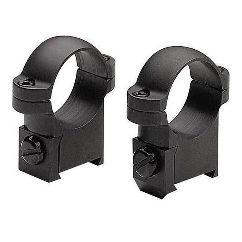 "Burris Solid Steel CZ527 Short Action Rings 1"" Medium Matte Black 420140"