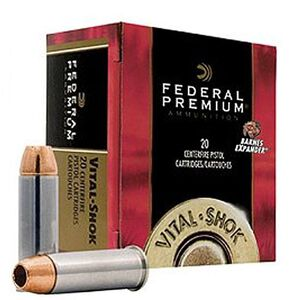 Federal V-Shok .500 S&W 275 Grain Expander 20 Round Box