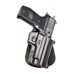 Fobus Holster SIG P220,P226/Sar B6/S&W 3913,5906 Right Hand Roto-Paddle Attachment Polymer Black