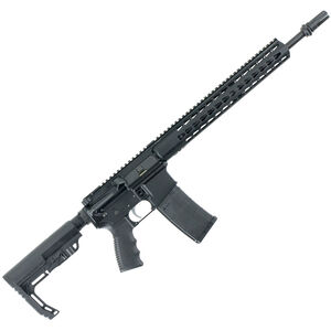 "Bushmaster Minimalist-SD AR-15 Semi Auto Rifle 5.56 NATO 16"" Barrel 30 Rounds AAC Square-drop Handguard MFT Stock Black"