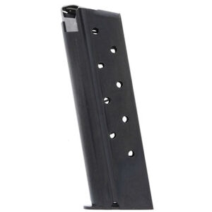 Iver Johnson 1911 Full Sized and Government Magazine 9 Rounds .38 Super Steel Black
