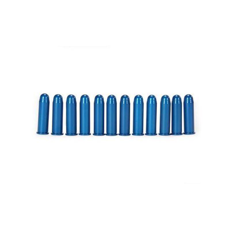 A-Zoom .38 Special Snap Caps Aluminum Blue 12 Pack 16318