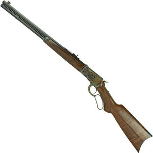 "Navy Arms Winchester 1892 Lever Action Rifle 44 Mag 20"" Octagonal Barrel 10 Rounds Walnut Stock Blued"