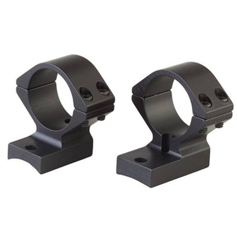 "Browning T-Bolt Integrated Scope Mount System 1"" Tube Low Height Matte Black Finish 12338"