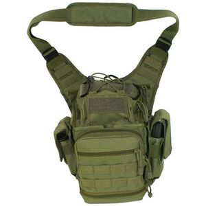 "NcSTAR First Responders Utility Shoulder Bag 12.5""x8.5""x7.25"" Nylon Green"