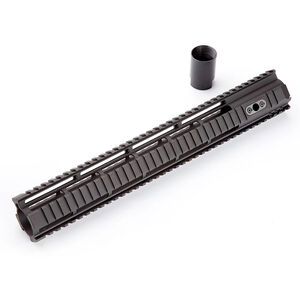 "HERA Arms USA AR-15 15"" IRS Integrated Rail System Free Float Picatinny Quad Rail High Quality Aluminum Matte Black Finish"