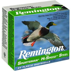 """Remington Sportsman Hi-Speed Steel 20 Gauge Ammunition 2-3/4"""" Shell #7 Steel Shot 3/4oz 1425fps"""