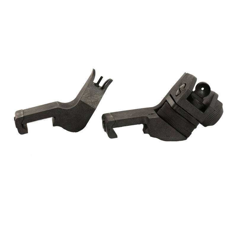 JE Machine 45º Degree Offset Polymer Fixed front & Rear Sights
