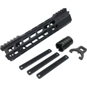 "Manticore AR-15 9"" Transformer Gen II Handguard Modular Free Float Rail System Aluminum Black"