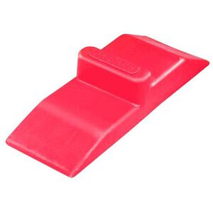 PRO-LOK Red Plastic Double-Sided Door Wedge