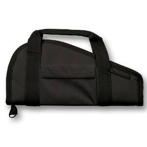 """Bulldog Cases Medium Pistol Rug Single Handgun 15""""x6"""" Nylon Black  BD601"""