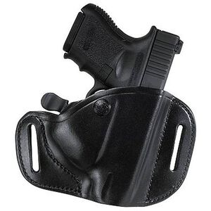 Bianchi #82 CarryLok Hip Holster Size 11D For GLOCK/Beretta/Taurus Right Hand Leather Black 22156