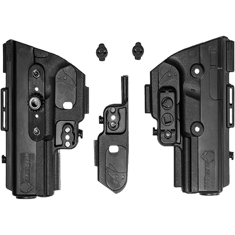 Alien Gear ShapeShift Shell Kit S&W M&P Shield 2.0 40 Caliber Right Handed Polymer Holster Shell For Use With ShapeShift Modular Holster System Black