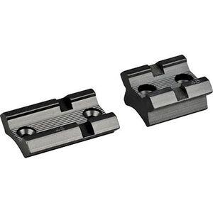 Redfield 2 Piece Base Mauser 98 Aluminum Black