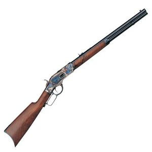 "Taylor's & Co Uberti Model 1873 Lever Action Rifle .357 Magnum 20"" Barrel 10 Rounds Walnut Stock Case Hardened/Blued"
