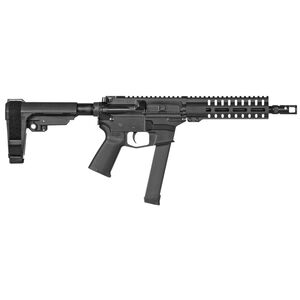"CMMG Banshee 200 MkGs 9mm Luger AR-15 Semi Auto Pistol 8"" Barrel 33 Rounds GLOCK Magazine Compatible RML7 M-LOK Free Float Hand Guard Black"
